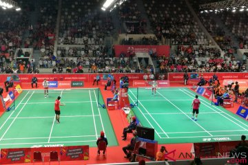 Dheva singkirkan unggulan pertama, tunggal putra SU5 dipastikan All-Indonesian Final