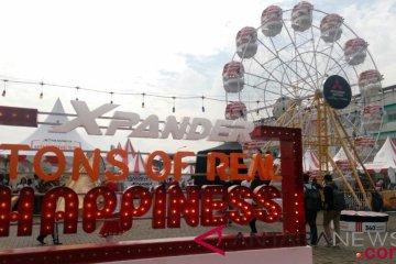 "Xpander ""Tons of Real Happiness"" sapa kota Medan"