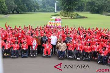 Menko Puan puji perjuangan atlet Indonesia di Asian Para Games