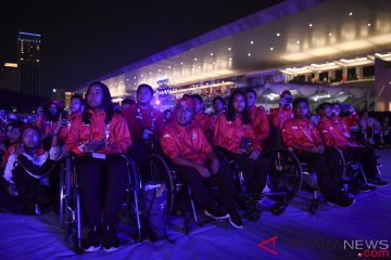 Pesta penutupan Asian Para Games digelar di Stadion Madya
