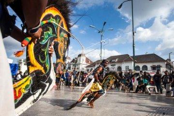 Hari Sumpah Pemuda di titik nol KM Yogyakarta