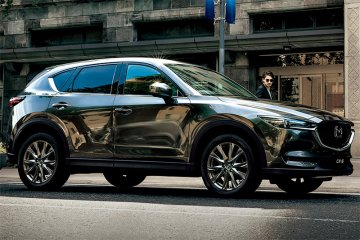 Mazda CX-5 sabet penghargaan Top Safety Pick + dari IIHS