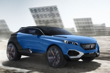 Peugeot rintis deretan mobil listrik bermodel sport