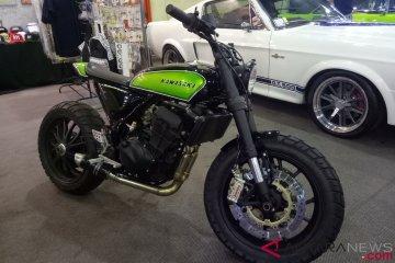 Kawasaki Ninja 250 bergaya Scrambler curi perhatian di IMX 2018