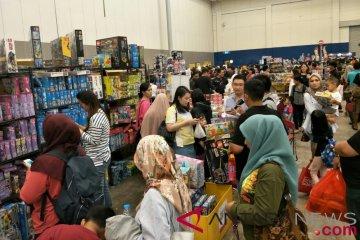 Ribuan penggemar miniatur mainan padati IDE 2018