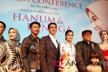 """""""Hanum & Rangga"""" mengisahkan perjalanan batin penuh konflik"""