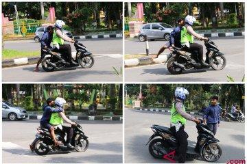 Tilang Pengendara Sepeda Motor