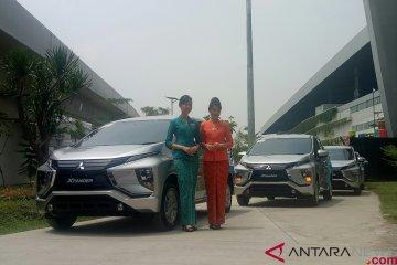 Mitsubishi Xpander jadi kendaraan awak Garuda Indonesia