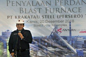 Krakatau Steel catat laba bersih pertama dalam delapan tahun terakhir