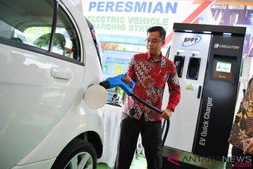 """BPPT miliki dua inovasi """"Fast Charging Station"""" untuk mobil listrik"""