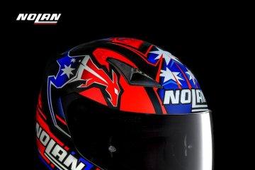 Nolan rilis helm replika Casey Stoner, cuma 200 unit