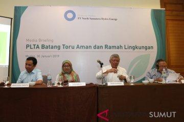Bahas Pembangunan PLTA Batang Toru