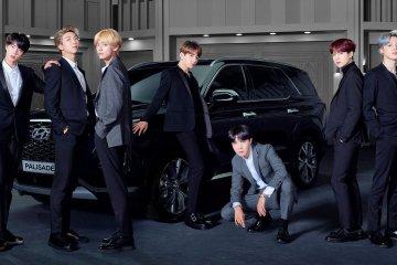 BTS kendarai Hyundai Palisade ke Grammy Awards 2019