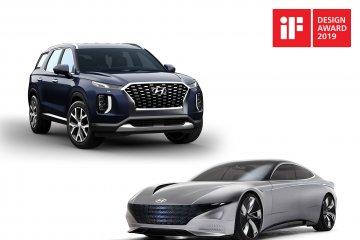 Enam mobil Hyundai sabet penghargaan Desain iF