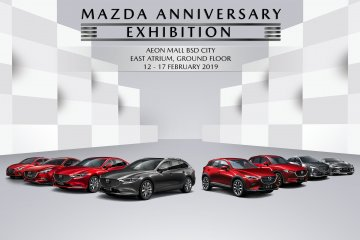 Eurokars gelar pekan penjualan spesial Mazda