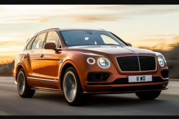 Bentley Bentayga SUV tercepat di dunia