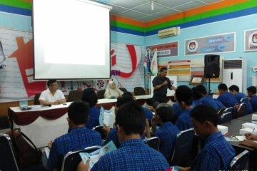 Kegiatan Di Rumah Pintar Pemilu KPU Medan
