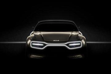 Jelang peluncuran, Kia bocorkan tampilan konsep mobil listrik
