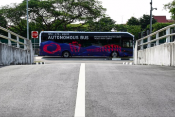 Volvo luncurkan bus listrik tanpa pengemudi di Singapura