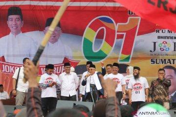 Orasi Ma'ruf Amin di Medan