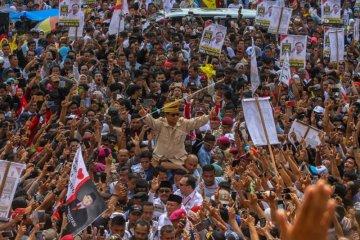 Prabowo di Pekanbaru