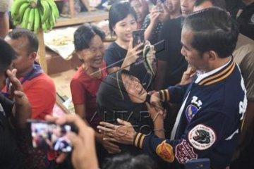 Presiden kunjungi Pasar Petisah