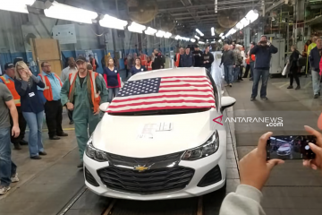 """Trump desak bos GM """"bertindak cepat"""" untuk buka kembali pabrik Ohio"""