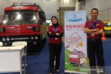Bus kayu Pownis di Museum Timah Indonesia raih penghargaan