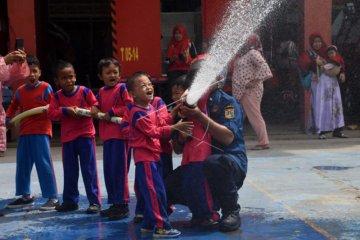 Edukasi Pemadaman Kebakaran
