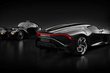 """Bugatti tampilkan """"La Voiture Noire"""" di Dubai"""