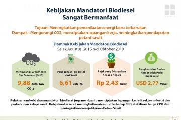 Indonesia tidak gentar lawan Eropa soal Biodiesel