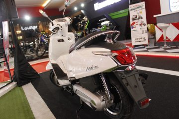 Kymco Like 150i dijual Rp28 jutaan, siap saingi Vespa