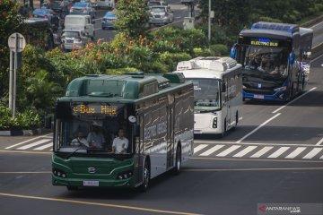 Transjakarta tunggu langkah Gubernur dan Presiden terkait bus listrik