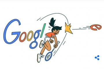 Legenda bulutangkis putri Minarni jadi wajah Google Doodle hari ini