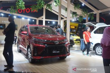 Toyota rangkum 3.872 SPK senilai Rp1,1 triliun selama IIMS 2019