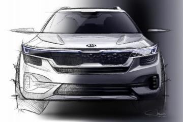 Kia ungkap sketsa Low SUV terbaru