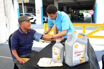 Shell hadirkan layanan periksa kendaraan dan kesehatan untuk supir