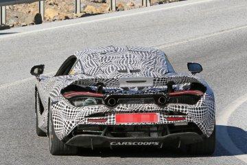 McLaren 720s tertangkap kamera saat sedang diuji