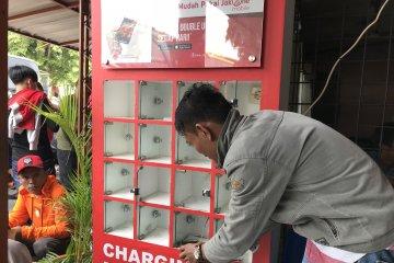 Terminal Kalideres sediakan charging booth untuk penumpang
