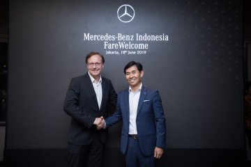 Mercedes-Benz Indonesia punya pimpinan baru