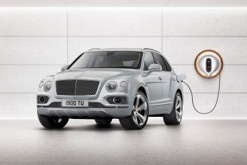 Bentley Bentagya listrik hadir di AS akhir tahun ini
