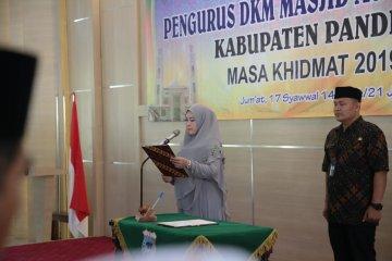 Bupati Pandeglang lantik pengurus Masjid Ar-Rahman