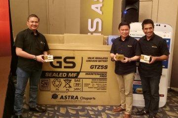 Astra Otoparts hadirkan GS Gold, dilengkapi barcode cegah pemalsuan