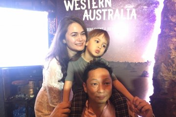 Ringgo Agus berbagi kiat melancong bersama anak