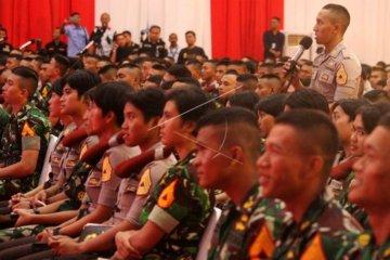 Capaja TNI Polri ikuti pembekalan