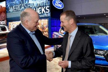 Ford dan VW jalin kemitraan baru bernilai miliaran dolar