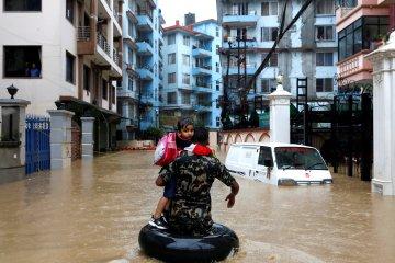Banjir dan longsor di Nepal tewaskan 23 orang, puluhan warga hilang