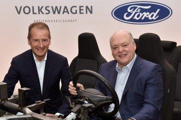 Ford-Volkswagen umumkan aliansi global mobil listrik dan swakemudi