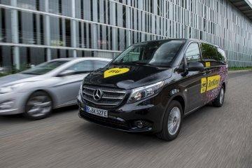 Van dari Mercedes Benz punya baterai dan nama baru