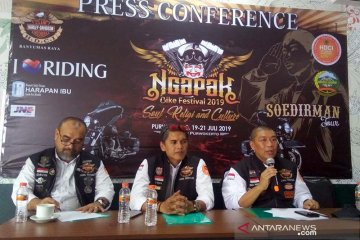 "HDCI gelar ""Ngapak Bike Festival 2019"" di Purwokerto"